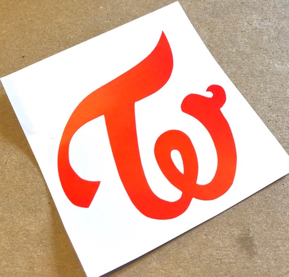 Twice Logo Decal Etsy Tons of awesome twice logo wallpapers to download for free. twice logo decal