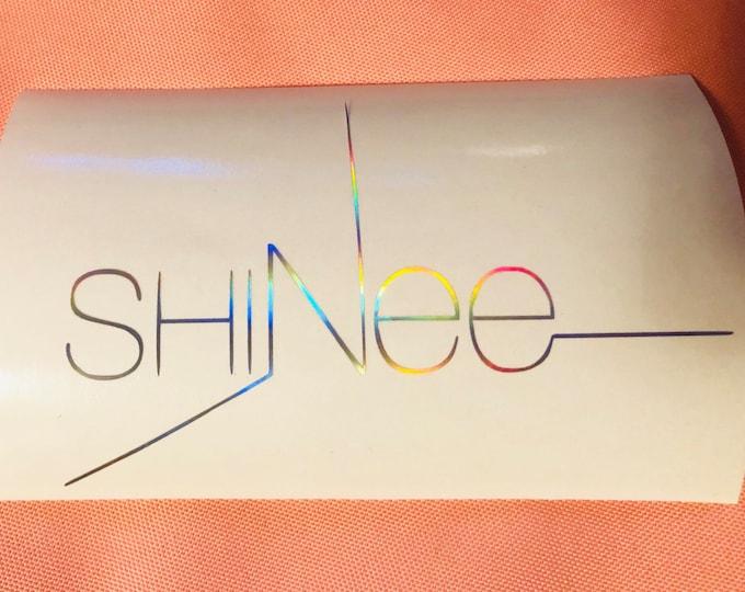 SHINee Logo Decal