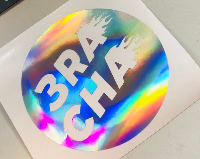 3RACHA Logo Decal