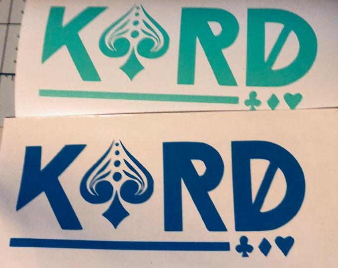 KARD Logo Decal