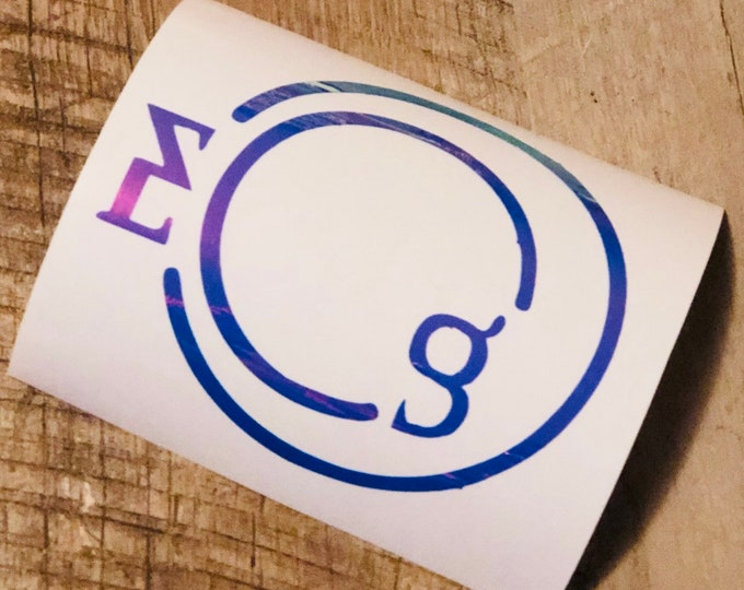 Everglow Logo Decal