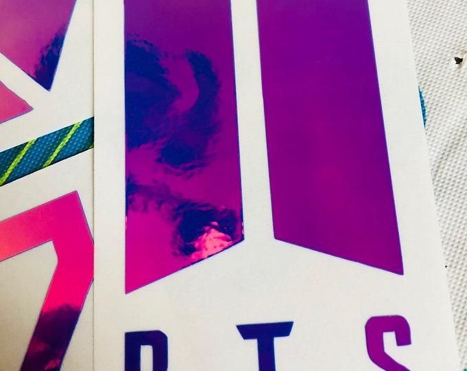 BTS Shield Logo Decal