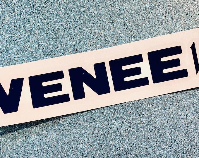 Wenee Logo Decal