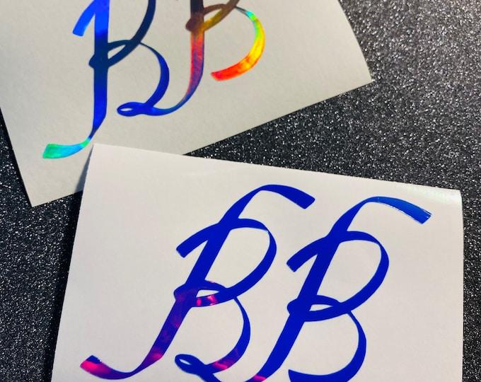 BamBam Ribbon Logo Decal