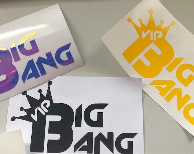 BigBang VIP Logo Decal