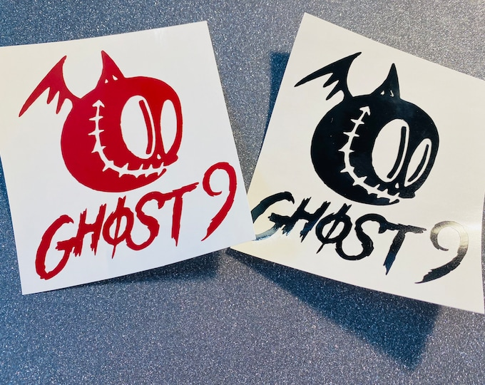 Ghost9 Logo Decal
