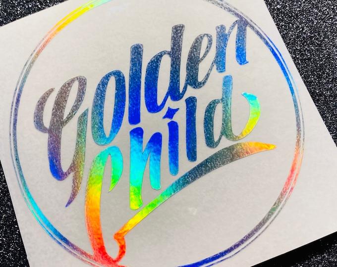 Golden Child Logo Decal