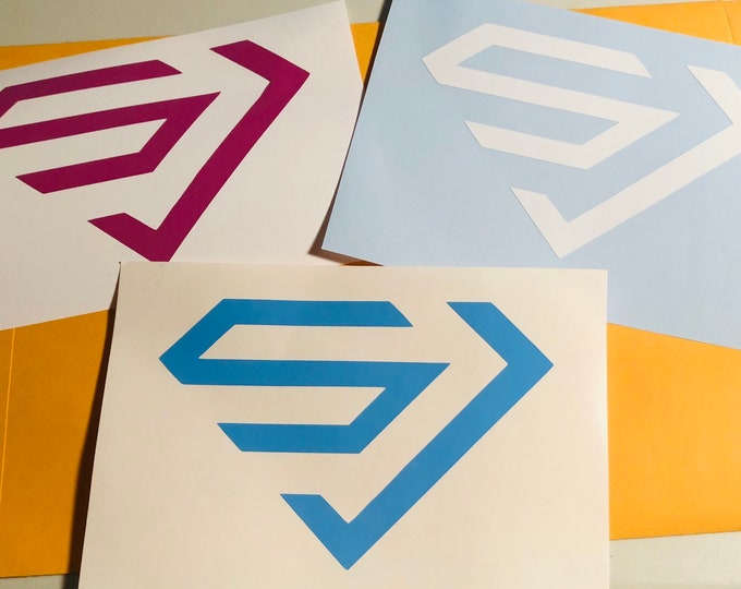 Super Junior Logo Decal