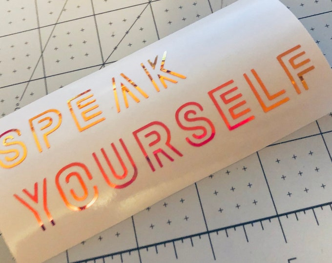 BTS Speak Yourself Decal
