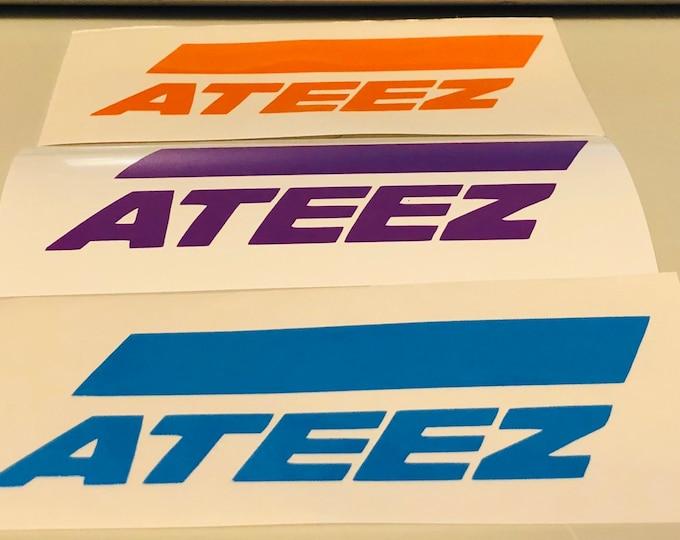 Ateez Logo Decal