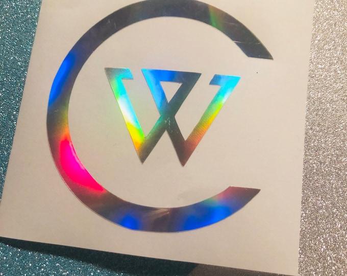 Winner Inner Circle Logo Decal