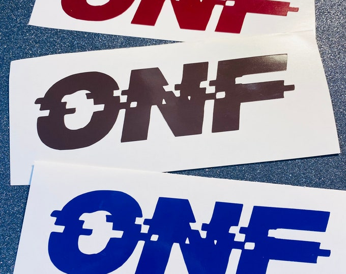 ONF Logo Decal