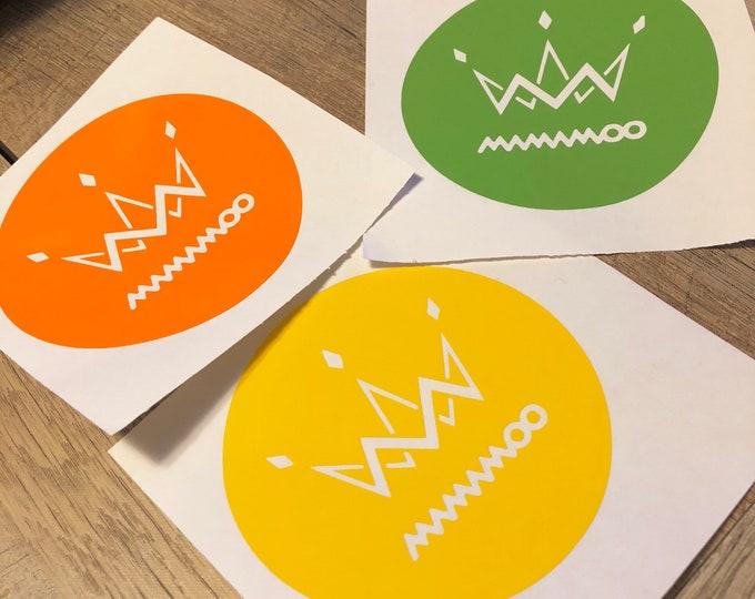 Mamamoo Crown Logo Decal