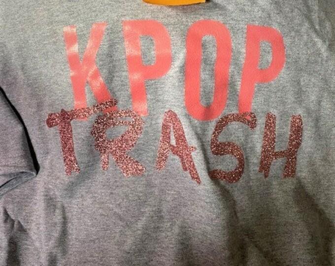 Kpop Trash T-Shirt XL-3X