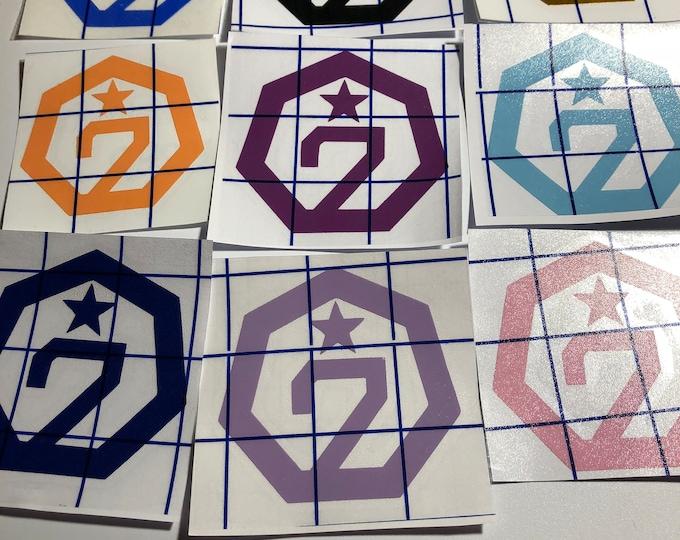 Got7 Geometric Logo decal