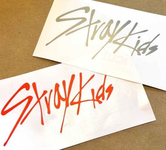 Stray Kids Script Logo Etsy The stray kids logo is a celebration of progress and passion for music, it is unique and recognizable and the elements of bright color adds a sense of joy and optimism. stray kids script logo