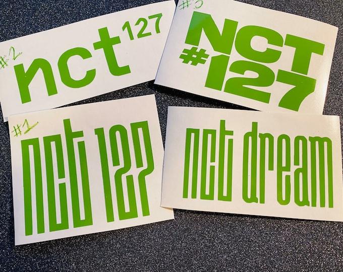 NCT Logo Decals