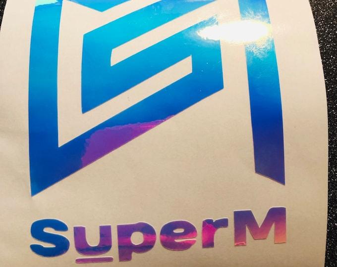 Super M Logo Decal