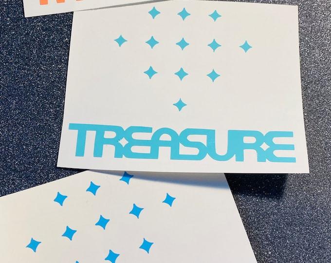 Treasure Logo Decal