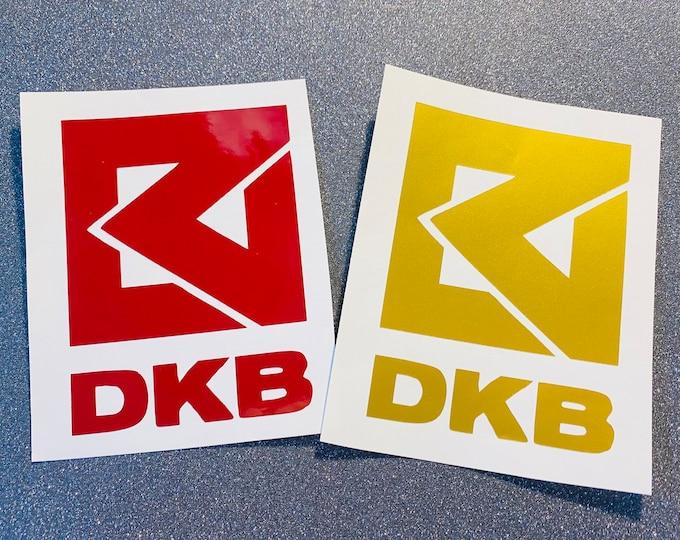 DKB Logo Decal