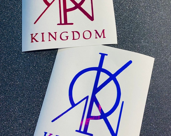 Kingdom Logo Decal