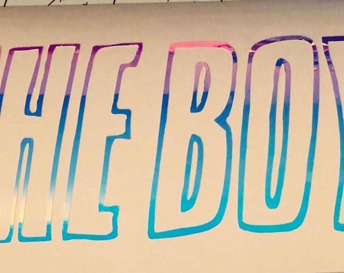 The Boyz Logo Decal