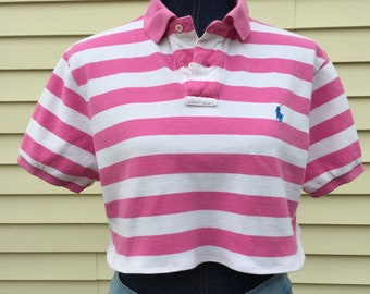 e9e930dfd4e94 Polo Ralph Lauren Cropped Shirt