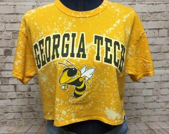d46aee3ae Georgia Tech Acid Washed T-Shirt—Medium