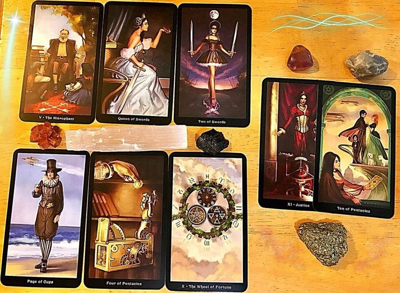 Tarot Card Reading/Celtic Cross/Relationship Spread/Career Tarot