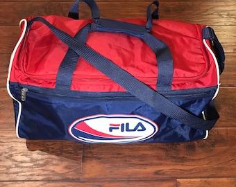 Vintage FILA Gym Bag 6b654f3e01c12