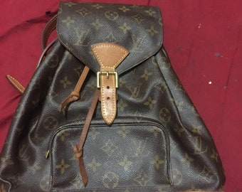 19f59ffbb Sale Authentic Louis Vuitton Montsouris backpack bag hot like  goyard,hermes,givenchy,ysl,gucci,fendi,supreme,chanel and mcm