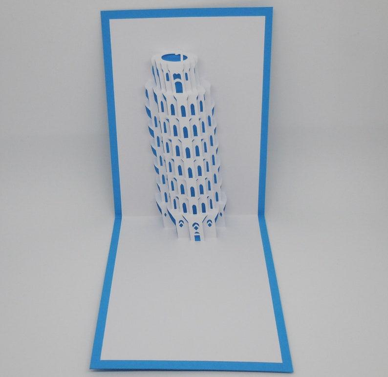 Pisa Karte.Pop Up Karte Pisa Schiefe Turm Von Pisa