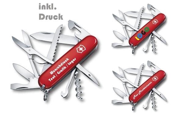 Victorinox Schweizer Taschenmesser Huntsman personalisiert mit Wunschtext