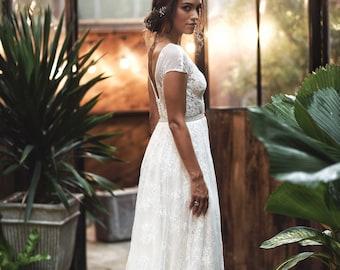 Retro Wedding Dresses.Retro Wedding Dress Etsy