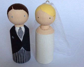 Bride and Groom * Bridal doll to Mitn...