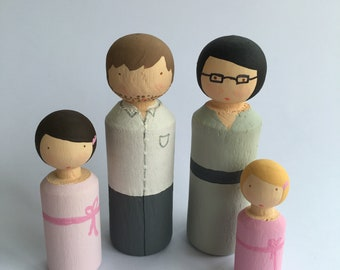 Cake Figurines * Wooden doll