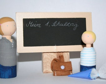 My first school day * Doll for training ©