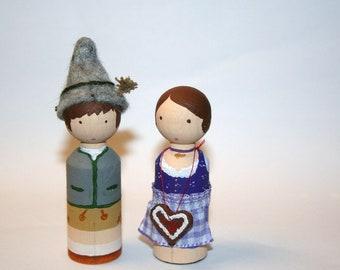 Oktoberfest-Tracht-Doll