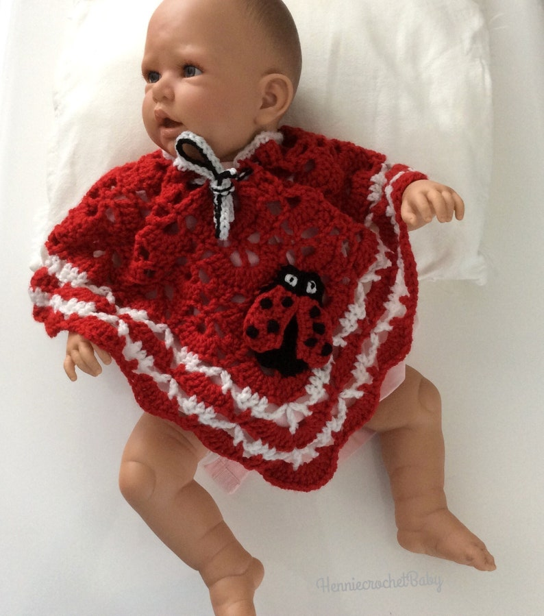 newborn gift baby clothes 0-6 months baby gift poncho photo shoot baby shower gift girl crocheted girls poncho Baby poncho crocheted