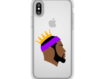 0794e678a1a4 LeBron James Lakers iPhone Case