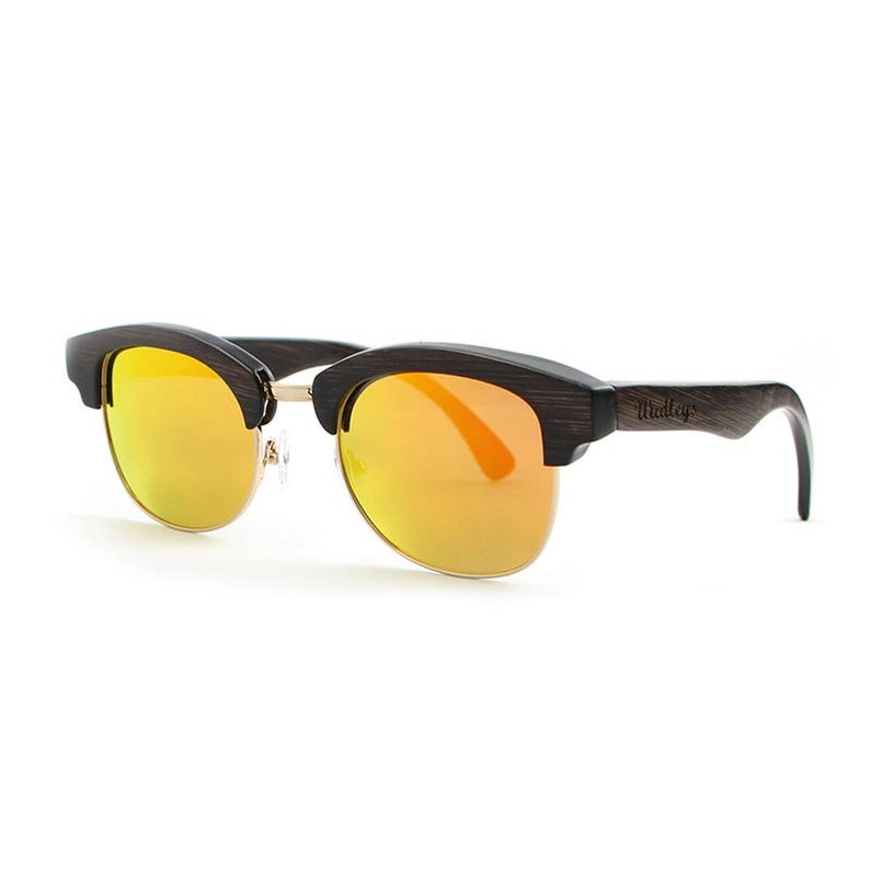 a589cbadc62d8 Wudleys Bamboo Clubmaster Sunglasses