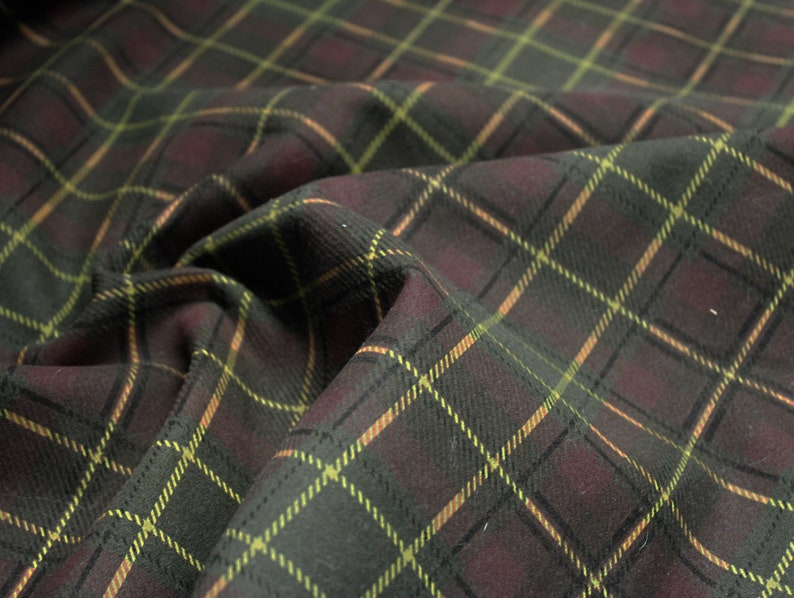 Fabric Or Textile Viscose\polyester Chequered Linens & Textiles (pre-1930) Sewing Material Antiques