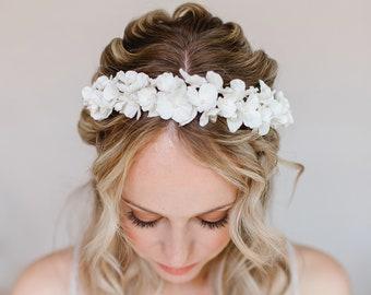 Bride Flowers Crown Tiara Hairdressing Headband Wedding Headdress Flowers Headband Dirndl Bridal Jewelry Hairband Bride Luxury Headdress
