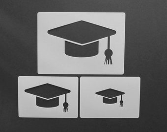 mortarboard template etsy
