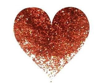 Holographic Burnt Orange Fine Glitter Loose Glitter Solvent Resistant Polyester Glitter Cosmetic Glitter