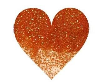 Tangerine Orange Glitter Loose Glitter Extra Fine Glitter Solvent Resistant Polyester Glitter Cosmetic Glitter