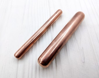 Solid copper stick, Pure solid copper, Сopper wand, Touch free, Hygiene tools