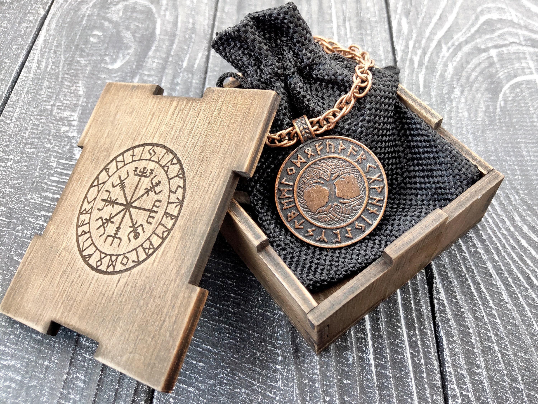 Copper tree of life necklace Elvish jewelry Viking jewelry Celtic jewelry Pagan jewelry Celtic tree of life