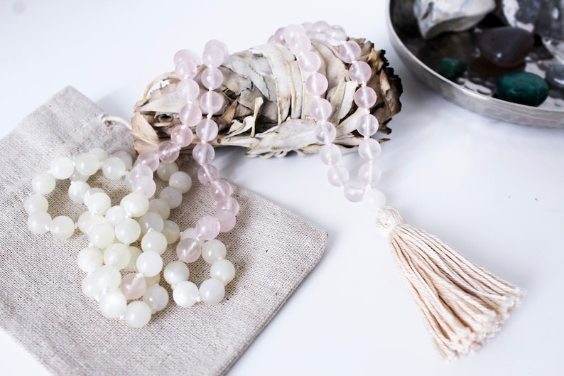 Mala Necklace Love and Harmony With Reiki Energy / Mala image 0