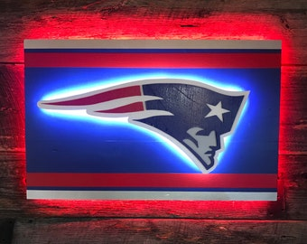 209df2d8933 New England Patriots Wooden Wall Décor